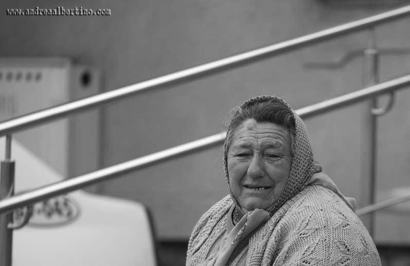 Old woman in Brann