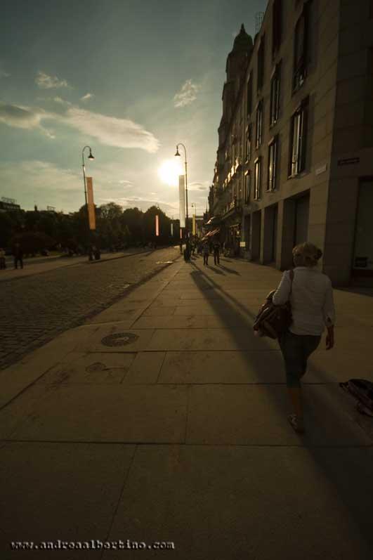 Walking in Oslo