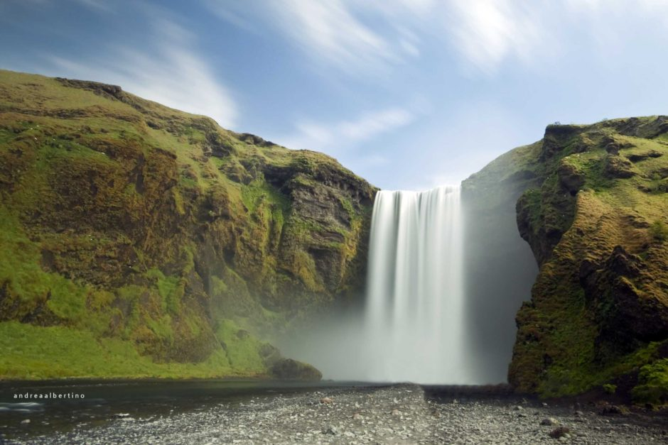 Skogafoss Waterfalls