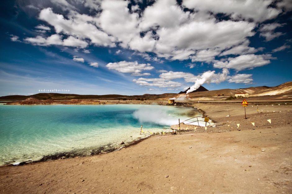 Skútustaðahreppur, hot sulphur lake