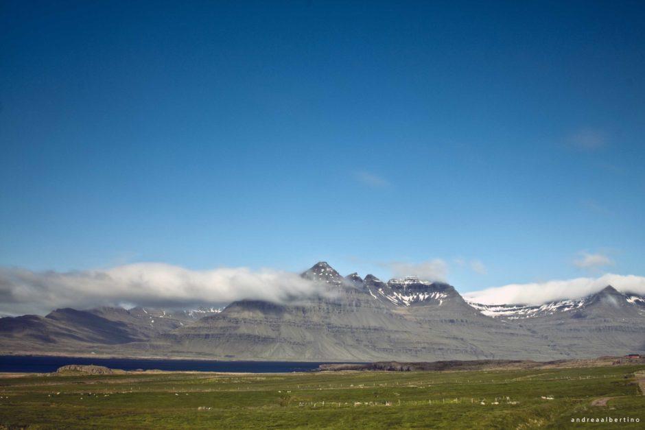Eastfjords landscape